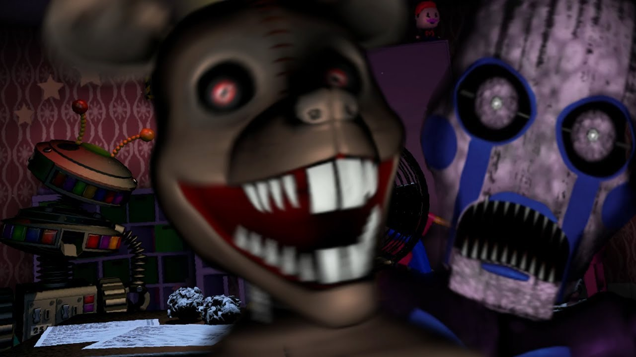 FIVE NIGHTS AT CANDYS 3 ANIMATRONICS IN ULTIMATE CUSTOM