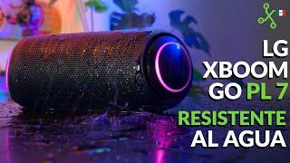 LG XBOOM Go PL7, resistente al agua ¿vale la pena?