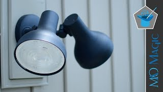 Philips Hue Ludere White Outdoor Security Light with HomeKit - Review!