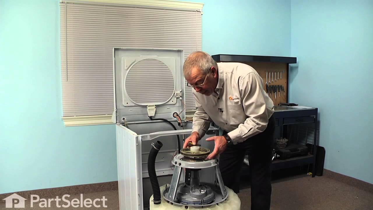 Replacing your Maytag Washer Snubber Ring