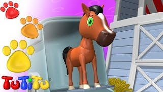 TuTiTu Animals | Animal Toys for Children | Horse