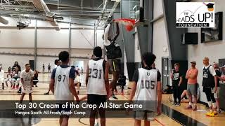 Pangos  South All-Frosh/Soph Camp Cream of the Crop All-Star Game