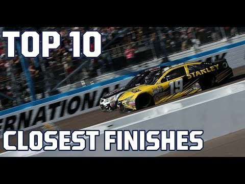 NASCAR Countdown: Top 10 closest finishes in NASCAR history