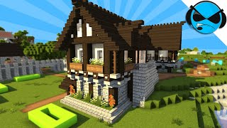How To Build A Medieval Bakery Minecraft Tutorial