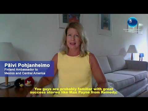 #ForoIndustriasCreativasUEMX Industria de los videojuegos en Filandia