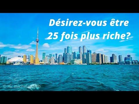 Voulez-vous être 25 fois plus riche ?
