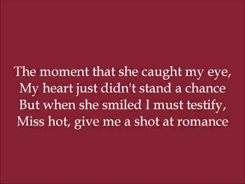 That Girl's Just Gotta Be Kissed - Peek-A-Groom (Dance Moms) - Lyrics