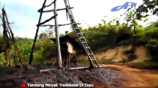 preview picture of video 'Sumur Minyak Tradisional Di Cepu'