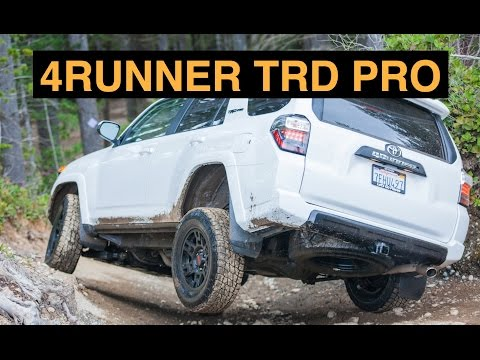 2015 Toyota 4Runner TRD Pro - Off Road And Track Review