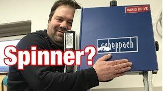 Scheppach - Was keiner ausspricht !! Bandsäge BASA 3, Tischkreissäge HS 105, BTS800, OSM600