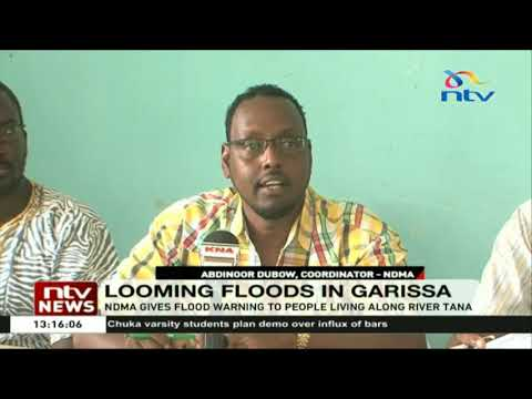 National Drought Management Authority  gives flood warning to people living along River Tana