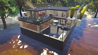 Huge villa ultra detailed gta mods