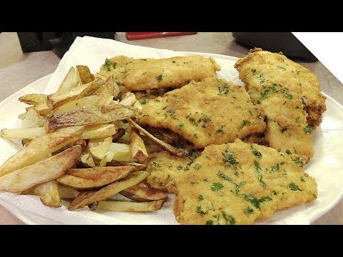 Italian Fish and Chips (Homemade Recipe)