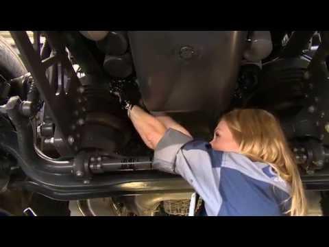 Die Abgabe des Benzins in den Motor