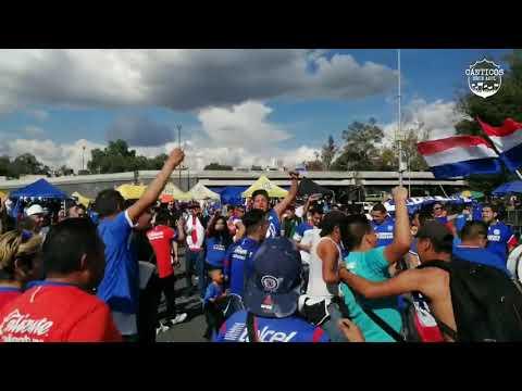 """La Sangre Azul vs Morelia"" Barra: La Sangre Azul • Club: Cruz Azul"