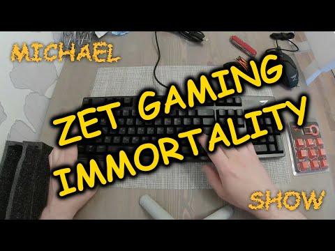 ZET gaming immortality. Распаковка механической игровой клавиатуры