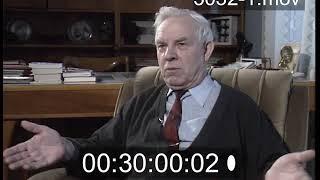 Владимир Семичастный (1924-2001) Архивное интервью 1992 года.