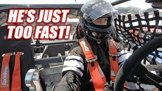 DRAG RACING IN VEGAS! Leroy Refuses To Slow Down! (LS Fest West Day 2)