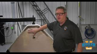 Inspecting the Rear Boiler Door Refractory - Weekly Boiler Tips
