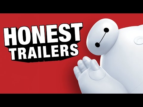 Big Hero 6 - Upřímné trailery