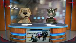 Новости Говорящих Тома и Бена Игра Ак Барс Цска Михаил Григоренко просто поразил! Тома и Бена!