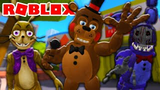*HUGE UPDATE* Glitchtrap and FNAF 2 Added in Roblox Freddy's Ultimate Roleplay