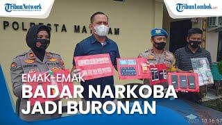 Jadi Buronan Polisi, Emak-emak di Mataram Ternyata Salah Satu Bandar Narkoba Besar di Wilayahnya
