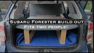 We Converted a Subaru Forester into a Car Camper!