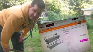 VidaXL BBQ - Spannferkelgrill Test, um die Zwillisten versorgen zu können ;-)
