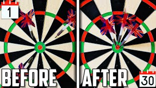 I Practiced Like A Professional Dart Player For 30 Days - This Is What Happened!