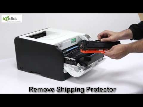 HP 1525n Toner Cartridge Replacement - user guide CE320A, 1,2,3