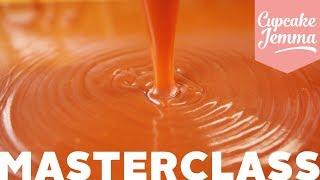 Caramel Masterclass with Caramel Recipes 3 Ways | Cupcake Jemma