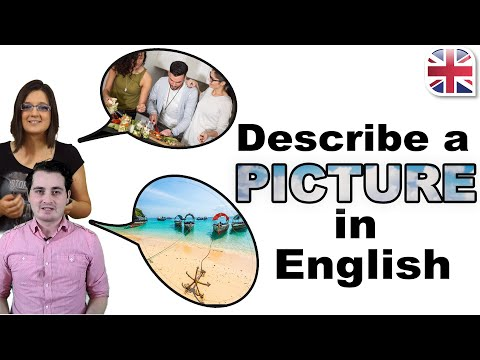 How To Describe A Picture In English - Describe An Image - Spoken English Lesson Mp3