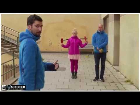 Ping Pong Show Трюки с ракетками для пинг понга