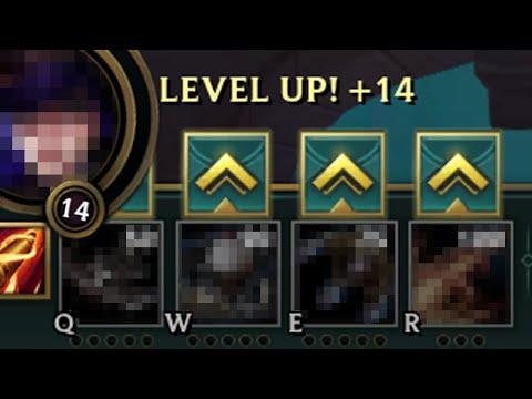 League of Legends but I don't Level a single ability