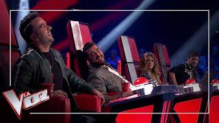 Paulina Rubio se alía con Luis Fonsi y Antonio Orozco intercambia su sillón con él en 'La Voz'