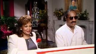 Superstars & Their Moms Stevie Wonder