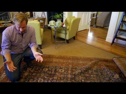 How to Repair an Oriental Rug   At Home With P. Allen Smith
