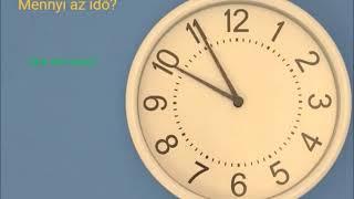 Che ore sono? Mennyi az idő?