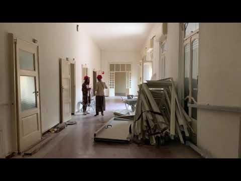 Dentro l'ex convento: il cantiere della nuova clinica a Varese