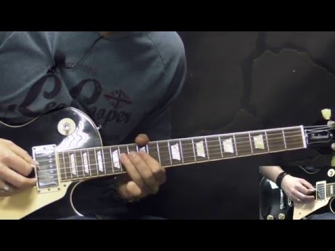 Black Sabbath - Supernaut - Metal Guitar Lesson (w/Tabs)