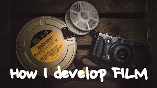 How I develop Kodak Vision 3 film and other color negative film stocks at home