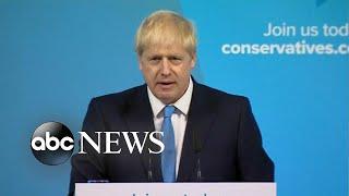 Boris Johnson named British prime minister