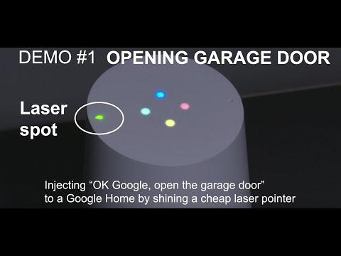 Light-Commands-demo-Opening-Garage-Door