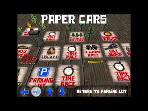 Video of Paper Cars BETA