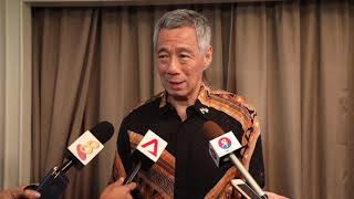 PM Lee Hsien Loong on his meeting with Malaysian PM Mahathir Mohamad | Kholo.pk