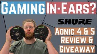 In-Ear Ohrhörer für Gamer? Shure Aonic 4 und Aonic 5 Review und Giveaway!