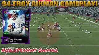 94 TROY AIKMAN GAMEPLAY!  MADDEN 20