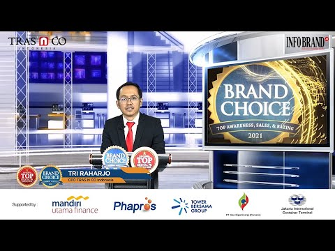 Sambutan CEO TRAS N CO Indonesia pada Virtual Award Ceremony Top Digital PR dan Brand Choice 2021