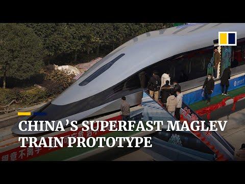 Kineski maglev voz za 620 km/h